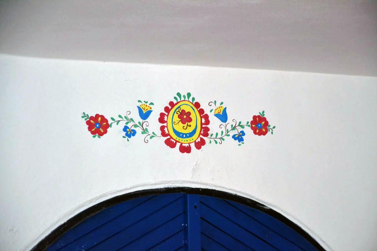 Detail slováckého ornamentu
