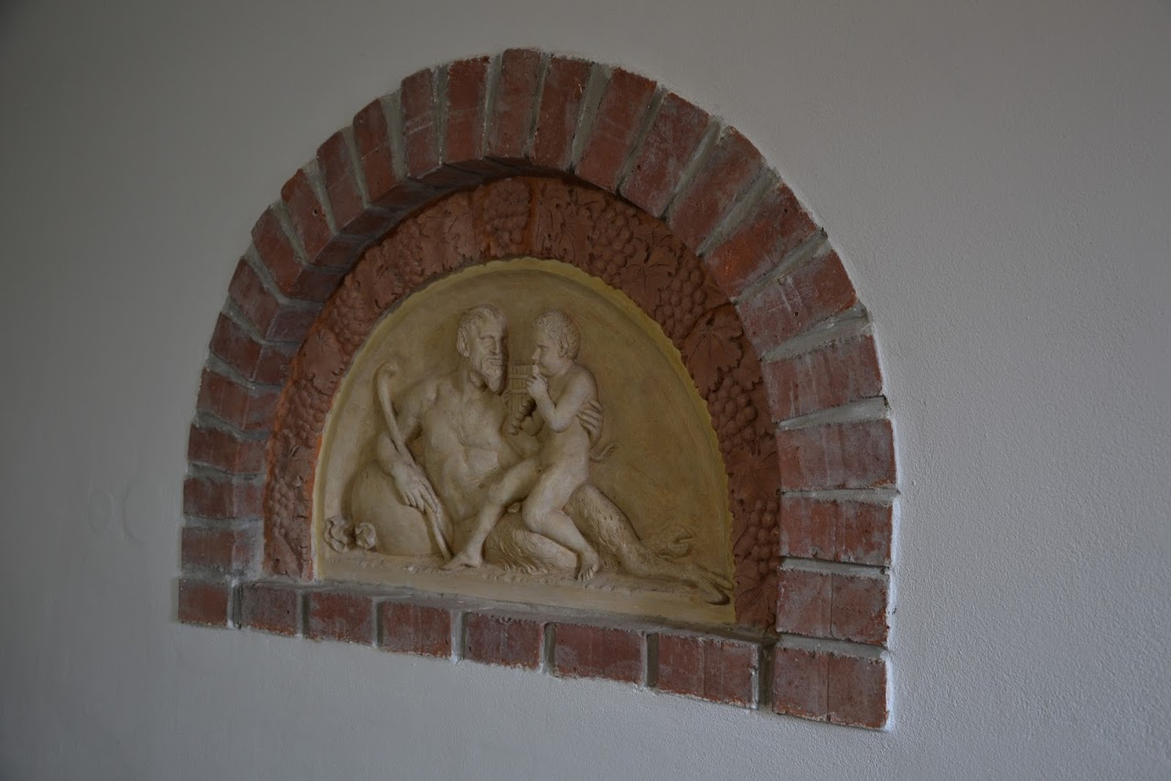 Detail reliéfu v lisovně