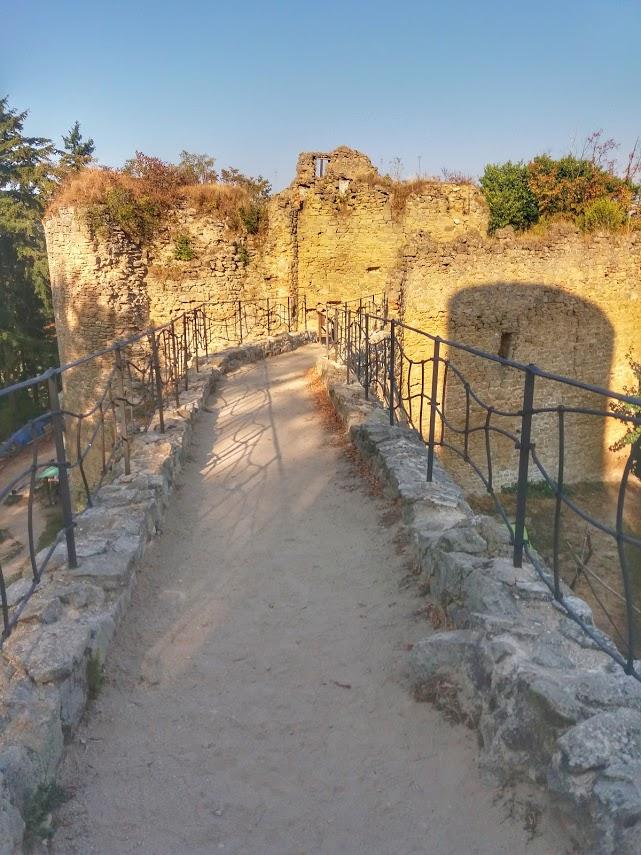 Zřícenina hradu Cimburk u Koryčan