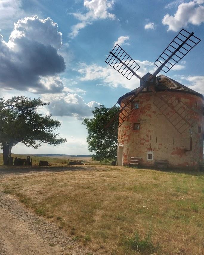 Větrný mlýn Kunkovice