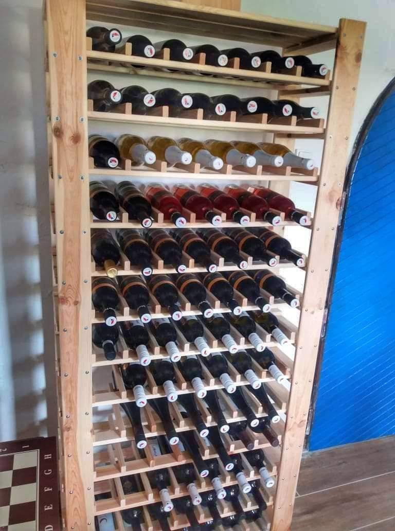 Nabídka vín v lisovně